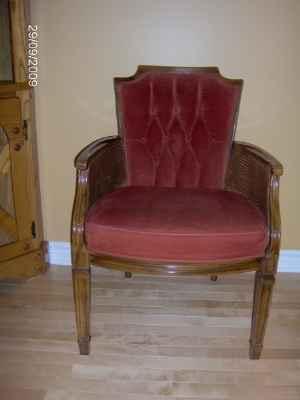 chaise de style victorien marchandise ameublement et d coration. Black Bedroom Furniture Sets. Home Design Ideas