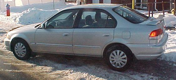 Acura 1 6 el 2000 en financement maison v hicules for Automobile financement maison