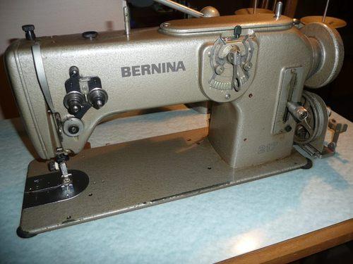 Machine a coudre industrielle bernina 2 marchandise for Machine a coudre 217